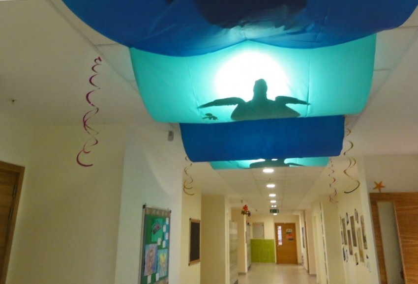 Classroom Design For Bulletin Board ~ Ocean themed classroom examples to do at school help